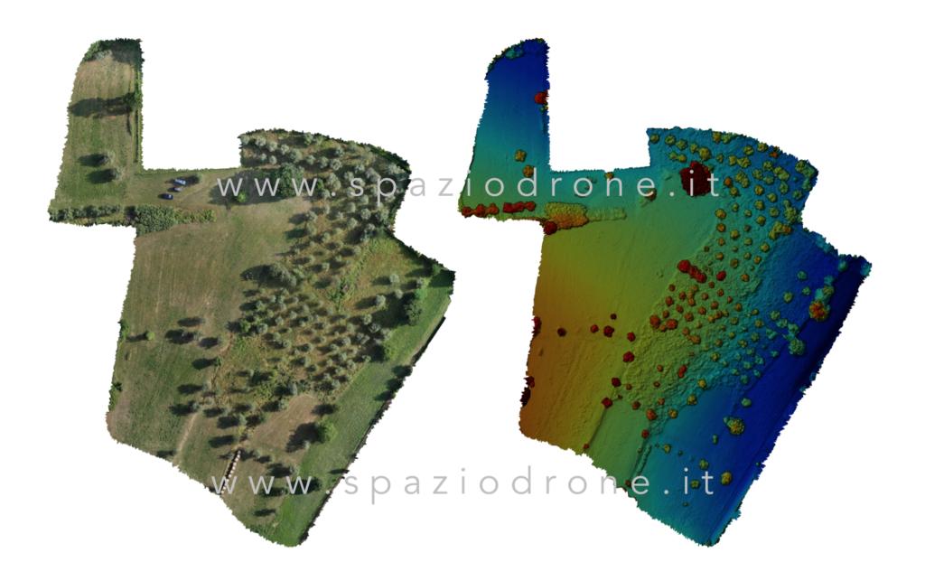 mappatura terreno mappe drone terreni proprietà confini